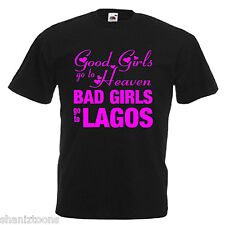 Lagos Portugal Hen Party Bad Girls Adults Mens T Shirt 12 Colours Size S - 3XL