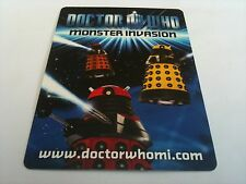 Dr Who TV Monster Invasion Trading Cards-101-150-Pick/Choose From List Free P&P