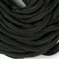 Black 550LB Type III Military Nylon Parachute Cord Rope