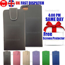 LEATHER FLIP CASE COVER & FREE SCREEN PROTECTOR FITS Blackberry Z10