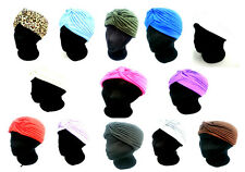 *NEW* TURBAN HAT STYLISH INDIAN ARABIAN HIJAB HEADCOVER BONNET CHEMO FANCYDRESS