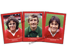 "Manchester United, Players of the 70's Collection Portraits, 7""x 5"" prints"