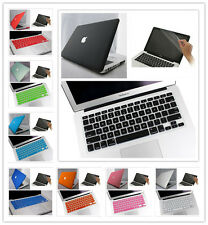 "3in1 8 Color Rubberized Hard Case For Macbook PRO 13""/13.3inch A1278"