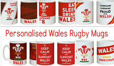 Wales Rugby Union Official WRU Personalised Mug Gift Idea Souvenir