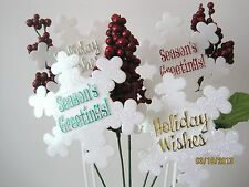 Snowflake, Angels,Happy Holidays,Happy New Year,Christmas,Seasons Greetings NIP