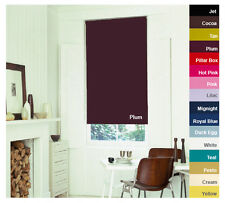 Plain Blackout Roller Blinds - Nursery, Kids room, Living room, Bedroom, Kitchen