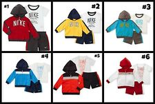 * NEW BOYS 3PC NIKE SHIRT Jacket and Shorts SUMMER OUTFIT SET 12M 18M 24M