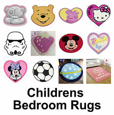 Kids Rugs Childrens Girls Boys Non Slip Mat Farm Alphabet Pirates Space Cheap