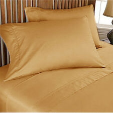 ROYAL BEDDING COLLECTION SHEET SET GOLD SOLD 1200TC 100%EGYPTIAN COTTON CHOOSIZE
