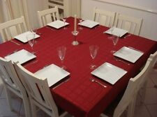 Hyde Park Dobby Dining table Rectangle 150x300cm top protector tablecloth