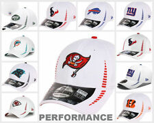 NFL New Era 3930 Training Camp Hat - White Flex Fit Cap Fitted SIDELINE Hat Size