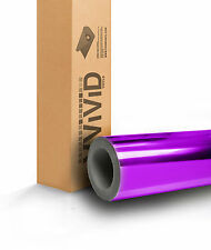 Purple Chome Vinyl Wrapping Film New Bubble-Free Roll for Car Bike Boat PCR5M