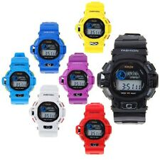 New Silicone Candy Color Digital Outdoor Waterproof Unisex Sports Wrist Watch