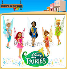 """Disney Fairies - Glittery Flutter Dolls with Moving Wings Approx 12"""" - BRAND NEW"""