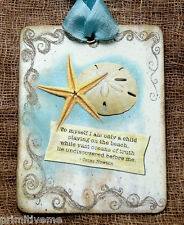 Hang Tags  STAR FISH SAND DOLLAR  BEACH QUOTE TAGS #564  Gift Tags