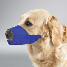 Guardian Gear Lined Nylon Dog Muzzles Blue
