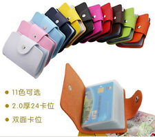 new 2014 fashion lady Business Credit Card Cases Id Holders women accessories PU