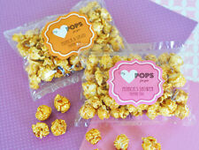 100 My Heart POPS for You Caramel Popcorn Wedding Shower Party Favor