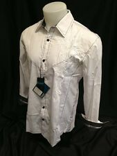 Roar Mens Long Sleeve Shirt White Conscious Energy S M L XL 2XL 3XL W51777 NWT