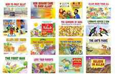 QURAN STORIES FOR LITTLE HEARTS GOODWORD ISLAMIC CHILDREN 16 BOOKS READ & LEARN