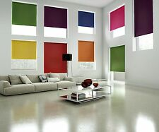 Blackout Roller Blinds Made To Measure Thermal Roller Blinds Bright Colours
