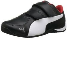 New Puma Drift Cat 5 LV Kids 304610 01 Black Wht High Risk Red Toddler Boy Girl