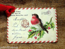 Hang Tags  CHRISTMAS RED BIRD POSTCARD TAGS or MAGNET #686  Gift Tags