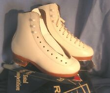 Riedell Model 55 Girls Figure Skates size 11 1/2 B/A