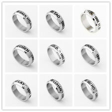 KPOP  EXO FROM PLANET STAINLESS STEEL RING NEW FREE SHIPPING