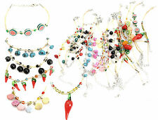 20 Designs Christmas Party Bag Stocking Fillers Cute Girls Kids Straw Bracelet