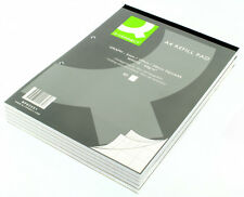 A4 GRAPH REFILL PAPER PAD   - 2MM/10MM/20MM - 2-HOLE BOUND 80 LEAF + FREE P&P