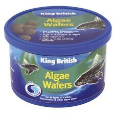 King British Algae Wafers Aquarium Food Catfish & Algae Eaters Various Sizes