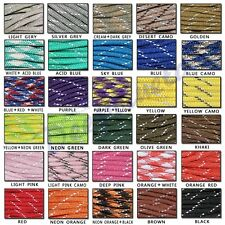 Free Shipping 550 Reflective Paracord Parachute Cord 8 Core Strand 50/100FT