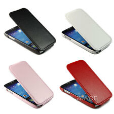 Litchi Leather Flip Case Cover For Samsung Galaxy S4 S IV Mini i9190 + 3 Gift