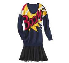 NEW! 3.1 Phillip Lim Target Sweater Skirt Dress BOOM ART Comic 4th of July party