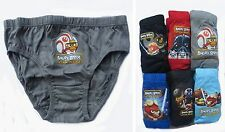 Angry Birds Star Wars Boys briefs 6 pack Age 3-10 Years