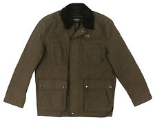 Coach Men's Twill Utility Jacket New Brown With Tags