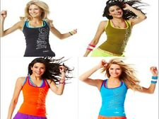 Zumba Fitness Cut Me Crazy Racerback! 4 Great Colors! NWT! Fast Free Shipping!