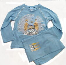 Manchester City Football Club Toddler Pajamas Pyjamas Ages 12 months- 4 years