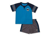 * NEW BOYS Converse 2-Piece Shirt and Shorts SUMMER OUTFIT SET 3/6M 6/9M