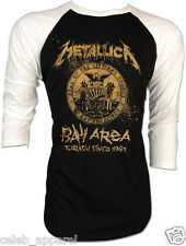 Gold Metallica James Hetfield Lars Ulrich Kill 'Em All Baseball 2 Tones Raglan