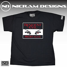 Resident Evil Project Alice T Shirt Umbrella Racoon City
