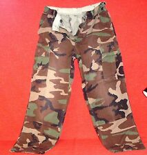 ARMY MARINE CORPS WOODLAND CAMO BDU TROUSERS PANTS SMALL & MEDIUM