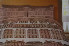 Catherine Lansfield BUILDINGS Duvet Sets Single-Double-King Percale 200 count