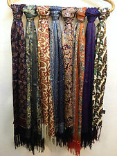 Authentic Tootal Vintage Silk Mod Paisley Scarf