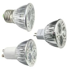 1/10/20/50pcs MR16/E27/GU10 9W Epistar LED Spot light lamp bulb Cool Warm White