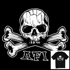 AFI T-Shirt A Fire Inside Vintage Style Skull Size S-6XL