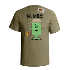 `Mr Angler `Mens hobbies/occupations T-Shirt perfect Fishing/Angler gift dtg M54