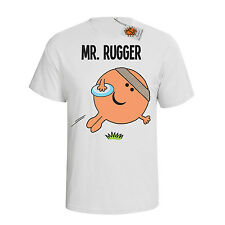 `Mr Rugger`Mens hobbies/occupation T-Shirt perfect Rugby gift dtg M64