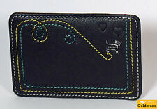 New RADLEY London Women's Leather Card Holder Border Heart Credit  Dust Bag BNWT
